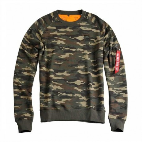 Bluza Alpha Industries X-Fit Sweat 408 WDL Camo