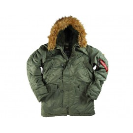 Kurtka Alpha Industries Alaska N3B sage green