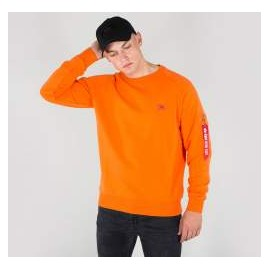 Bluza Alpha Industries X-Fit Flame Orange