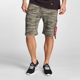 Szorty Alpha Industries X-Fit Cargo12 woodland camo