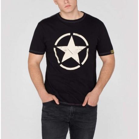 Koszulka Alpha Industries Star T 03 czarna