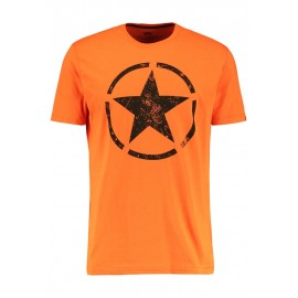Koszulka Alpha Industries Star T Flame Orange