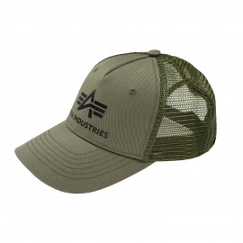 Czapka z daszkiem Alpha Industries Basic Trucker Cap Olive