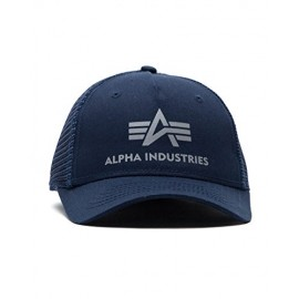Czapka z daszkiem Alpha Industries Basic Trucker Cap rep. blue