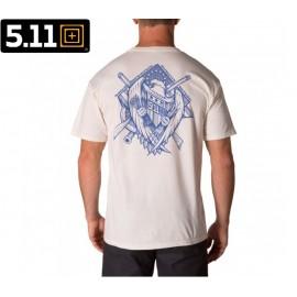 Koszulka 5.11 Eagle Strike tee biała (41195KNW)