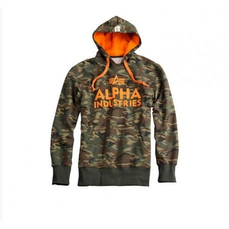 gorąca wyprzedaż najniższa cena kup sprzedaż Bluza z kapturem Alpha Industries Foam Print 12 Woodland camo - Noże Świata