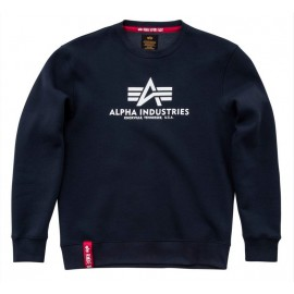 Bluza Alpha Industries Basic Sweater navy