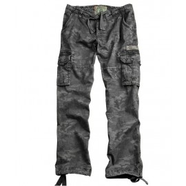 Spodnie Alpha Industries Jet Black Camo