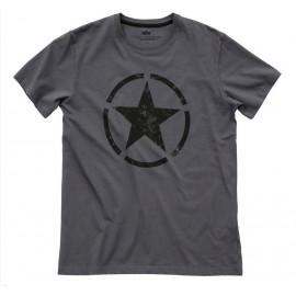 Koszulka Alpha Industries Star T ciemnoszara (121513-136)