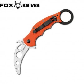 Nóż Fox Cutlery FX-599TK G10 Orange