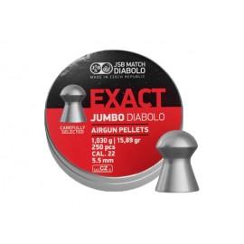 Śrut diabolo JSB Exact Jumbo 5,51 mm 250 szt.