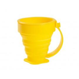 Kubek składany silikonowy Rockland 200 ml Yellow