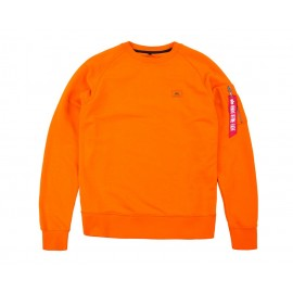Bluza Alpha Industries X-Fit Sweat Flame Orange