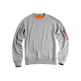 Bluza Alpha Industries X-Fit Sweat 17 grey heather