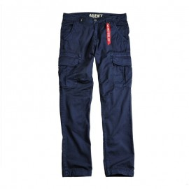 Spdnie Alpha Industries Agent 07 repl.blue
