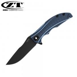 Nóż Zero Tolerance 0609BLUBLK Sprin Run