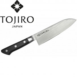 Nóż Tojiro DP37 Damascus Santoku 17cm