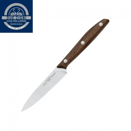Nóż Due Cigni 1896 uniwersalny 10 cm 2c 1002 NO Drewno orzechowe