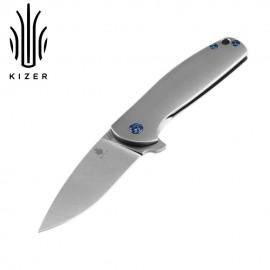 Nóż Kizer Gemini Ki3471 szary
