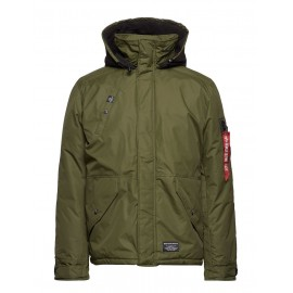 Kurtka Alpha Industries ECWCS EV dark green