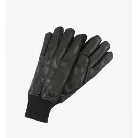 Rękawice Alpha Industries Skórzane B3 czarne