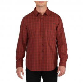 Koszula 5.11 Echo Long sleeve Rosewood Plaid