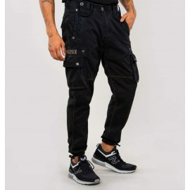spodnie Alpha Industries Rugg czarne