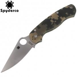 Nóż Spyderco Para Military 2 G10 Camo Plain C81GPCMO2