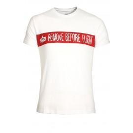 Koszulka Alpha Industries RBF biała (166507-09)
