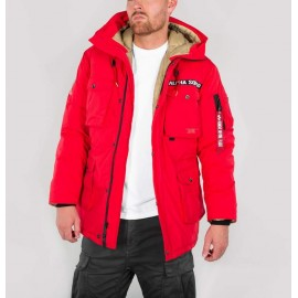 Kurtka Alpha Industries Mountain All Weather Speed Red