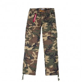 Spodnie Alpha Industries JET woodland (101212-408)