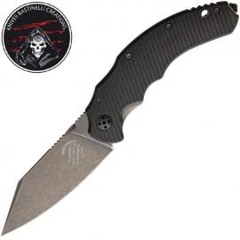 Nóż Bastinelli Creations Dragotac Compact V2 Dark Stonewash