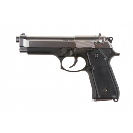 Pistolet ASG Tokyo Marui Beretta M92F Military Model - srebrny zamek