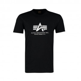 Koszulka Alpha Industries Basic Black (100501-03)