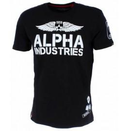 Koszulka Alpha Industries Rebel T Black (196518-03)