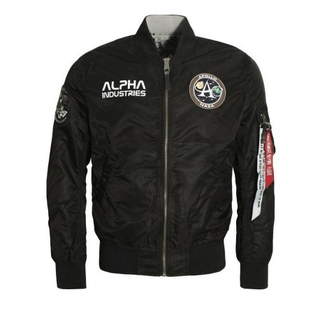 Kurtka Alpha Industries MA-1 Moon Landing reversible 196125 03Black