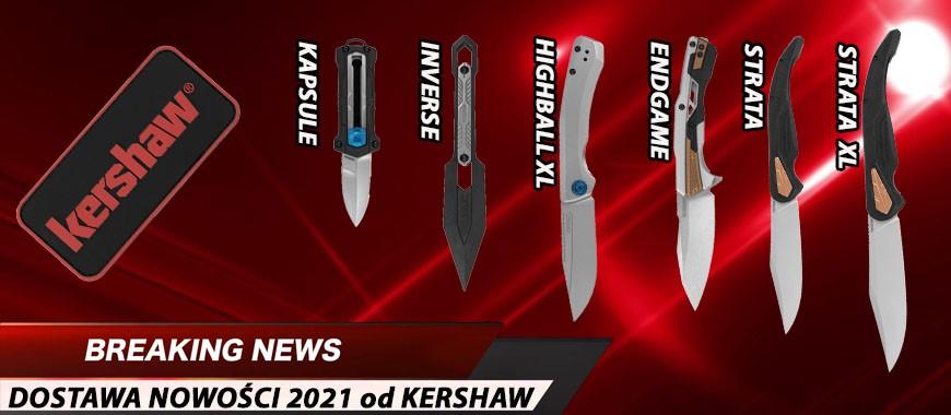 Nowości Kershaw 2021