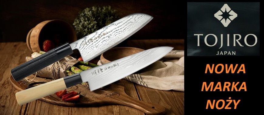 Japońskie noże kuchenne Tojiro