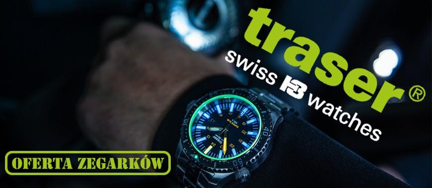 Zegarki Taktyczne TRASER